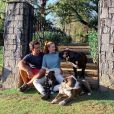 Marina Ruy Barbosa passa a quarentena com o marido, Xande Negrão, e os pets do casal