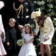 Príncipe George sempre apareceu expressivo em fotos com a família