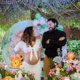 Liah Soares e o noivo, Carlo Porto, estão mais conectados na gravidez