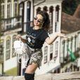 Kéfera fez sua estreia nas novelas em 'Além do Tempo'