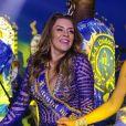 Simony vai comandar a bateria da Unidos do Peruche no carnaval 2021. Folia não tem data para ocorrer em São Paulo