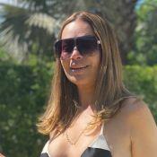 Solange Almeida dança de biquíni e barriga trincada chama atenção. Veja!