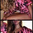 Anitta exibe detalhes de vestido de grife em foto