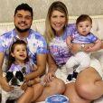 Casado com Paula Vaccari, Cristiano é pai de Pietra e Cristiano