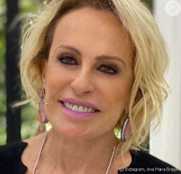 Ana Maria Braga se recuperou de pneumonia e volta ao 'Encontro com Fátima Bernardes' nesta quinta-feira, 3 de setembro de 2020