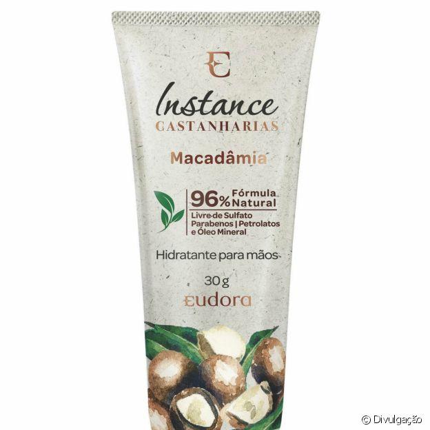 A nova linha Instance Castanharias, da Eudora, é sustentável e com ingredientes naturais