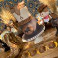Biah Rodrigues mostra decoração da festa de 4 meses do filho