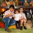 Filho mais novo de Wesley Safadão chama atenção por semelhança com irmão