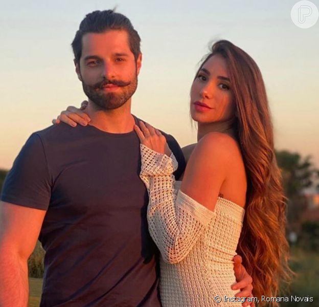 Romana Novais e Alok escolhem nome para a primeira filha: Raika