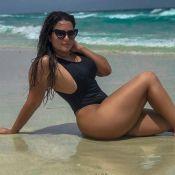 Geisy Arruda entrega truque para destacar corpo em fotos. Saiba qual!