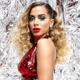 Anitta grava para o 'Caldeirão do Huck', na TV Globo