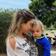 Patricia Abravanel já se comparou ao filho caçula, Senor, batizado com o nome do avô Silvio Santos