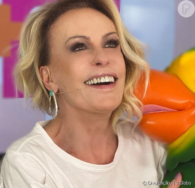 Ana Maria Braga abraça Louro José após morte do ator Tom Veiga