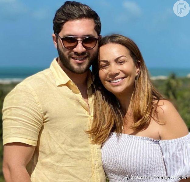 Solange Almeida vai casar com Monilton Moura, diz colunista