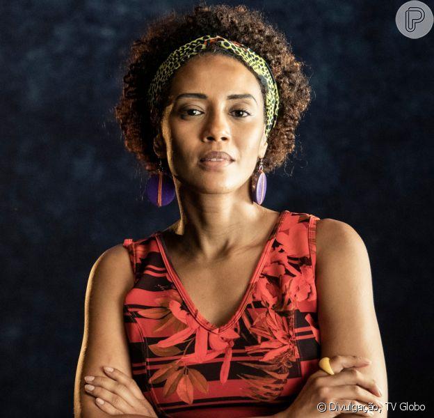 Taís Araújo emociona irmã de Marielle Franco ao interpretar vereadora: 'Arrepiada'