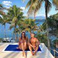 A beleza da mãe de Giovanna Ewbank foi muito elogiada na web