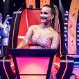 Claudia Leitte se mostrou ansiosa para o início das gravações do 'The Voice Brasil +'