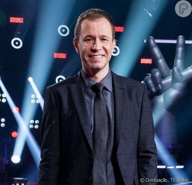 Tiago Leifert falou sobre parto da filha em programa de TV