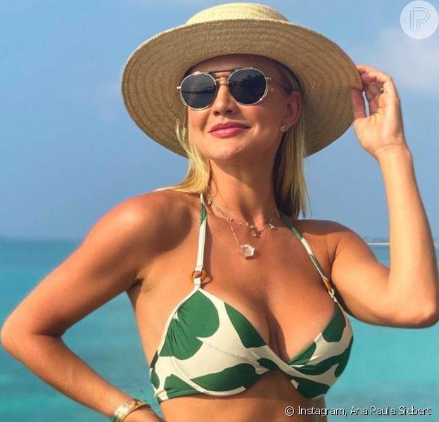 Ana Paula Siebert moda praia Maldivas