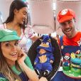 Flávia Viana e Marcelo Zangrandi, pais de Gabriel, tinham planos de se casarem em 2020