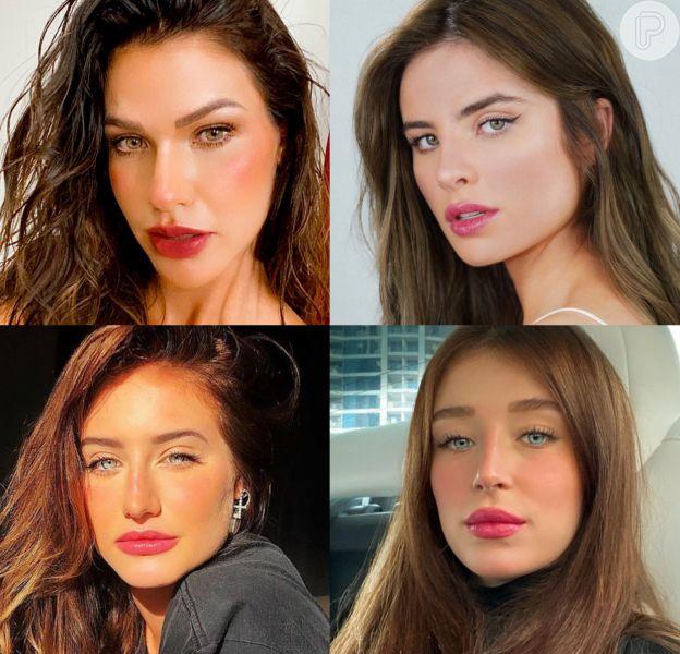 Andressa Suita, Giulia Be e mais famosas que escureceram o cabelo em 2020