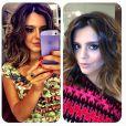 Giovanna Lancellotti também mostrou a mudança em seu Instagram e seguidores dizem que ela ficou com 'cara de mulher'. A atriz repicou e clareou os fios