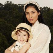 Simaria realiza ensaio com filhos, Pawel e Giovanna: 'Estamos ainda mais unidos'