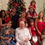 Natal de Silvio Santos: filha mostra apresentador em momentos especiais com família