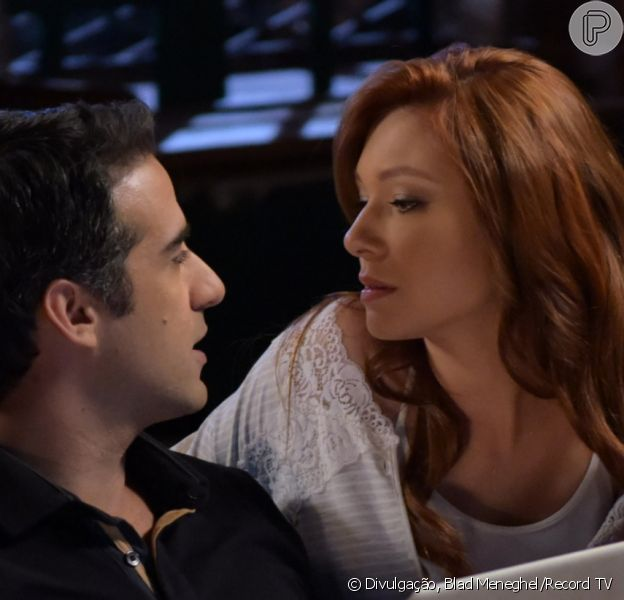 No último capítulo da novela 'Amor Sem Igual', Poderosa/Angélica (Day Mesquita) tem primeira noite de amor com Miguel (Rafael Sardão) após se casar com o agrônomo
