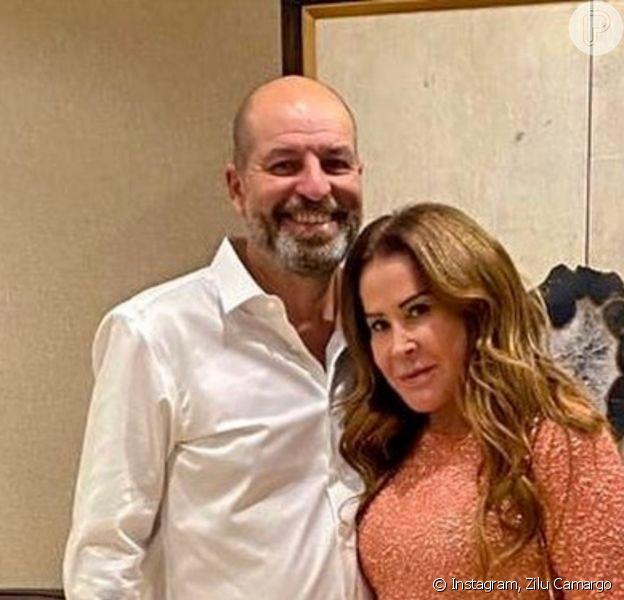 Zilu Camargo exaltou namorado, Antonio Casagrande, nos 9 meses de relacionamento