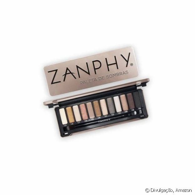 Paleta de sombras Zamphy