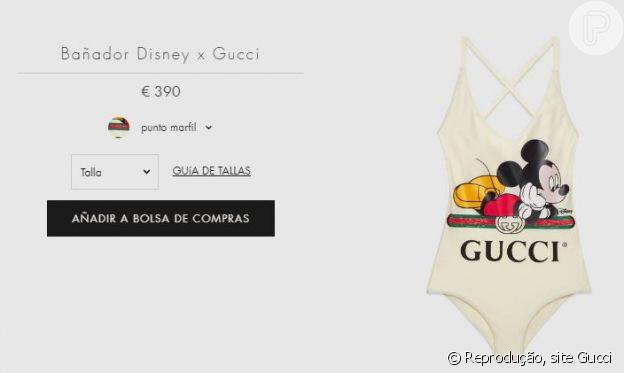Maraisa usa maiô de R$ 2500 da grife Gucci