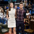 Camila Queiroz e o marido, Klebber Toledo, estão animados para estrear como apresentadores