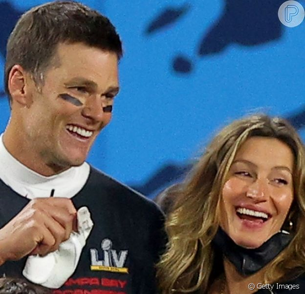 Gisele Bündchen comemorou o 4º título de Super Bowl ao lado do marido, Tom Brady