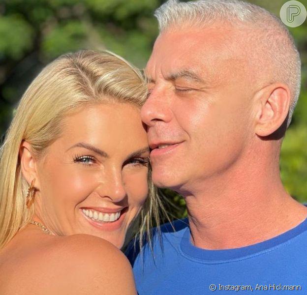 Marido de Ana Hickmann, Alexandre Corre está curado do câncer