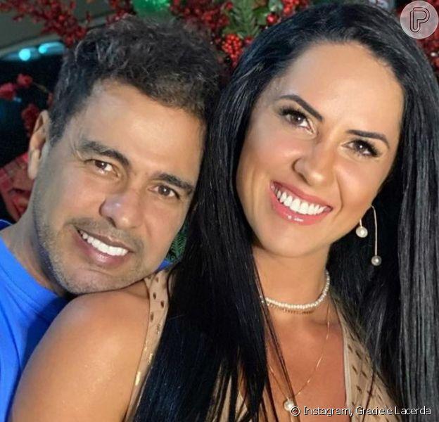 Graciele Lacerda relatou reação ao ser homenageada pelo noivo, Zezé Di Camargo, com tatuagem