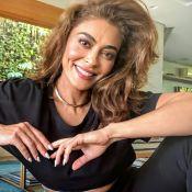 Na TV, Juliana Paes diz que Carla Diaz está 'refém' de Arthur no 'BBB21': 'Pode prejudicá-la'