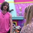 'BBB 21': Carla Diaz entregou banana a Fiuk após deixar o Quarto Secreto