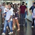 Andressa Ferreira acompanhou Thammy Miranda no dia da eleição