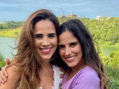Camilla Camargo ganha parabéns da irmã, Wanessa, após nascimento da filha: 'Minhas meninas'