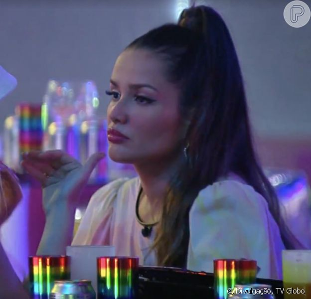 Festa no 'BBB 21': Viih Tube reclama da amizade de Juliette e diz estar 'cansada' da sister