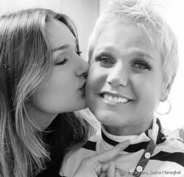 Xuxa ganhou apoio de Sasha ao se desculpar por fala polêmica: 'Te amo'