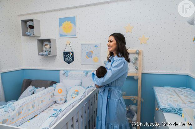 Luara Suita mostrou detalhes do quarto do primeiro filho