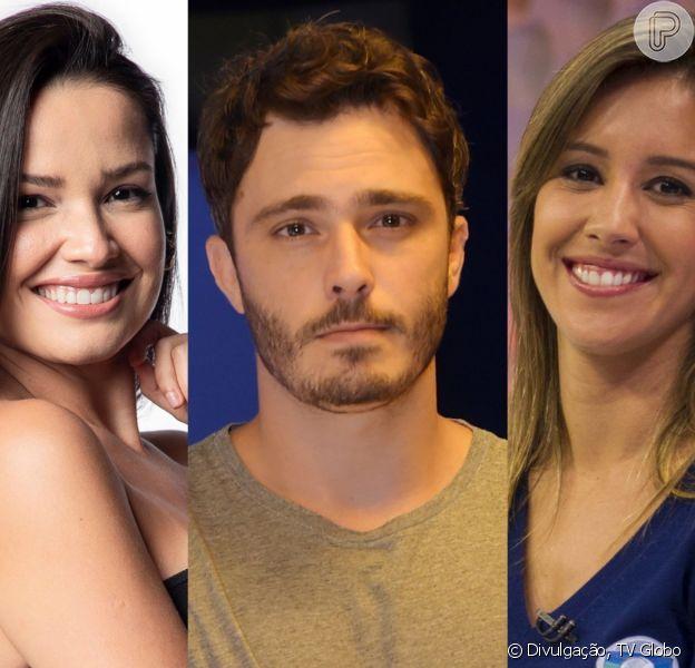Thiago Rodrigues reagiu com risos ao ser perguntado sobre o beijo que teria dado em Juliette, do 'BBB 21'