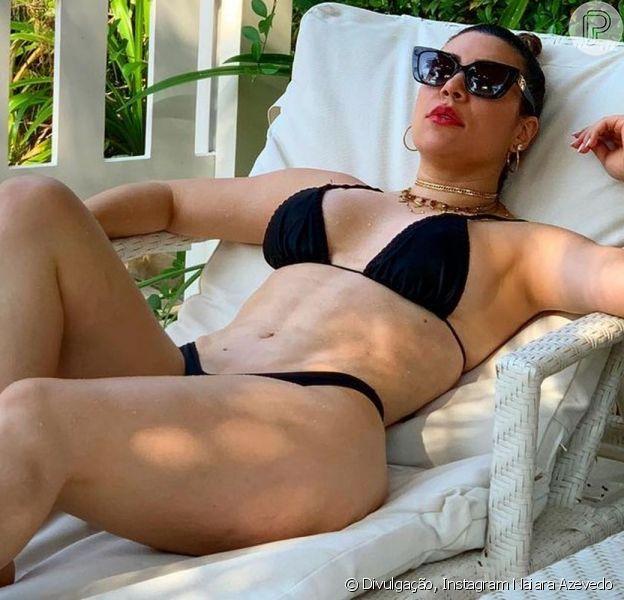 Naiara Azevedo gravou um vídeo de biquíni e teve seu corpo criticado na web