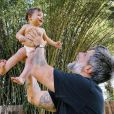 Filho de Bruno Gagliasso e Giovanna Ewbank, Zyan faz 9 meses nesta quinta-feira (8)