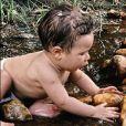 Filho de Giovanna Ewbank e Bruno Gagliasso, Zyan faz 9 meses e fofura encanta web