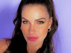 Andressa Suita fala de saudade de ter um bebê e mãe da modelo faz sinal em vídeo. Veja!