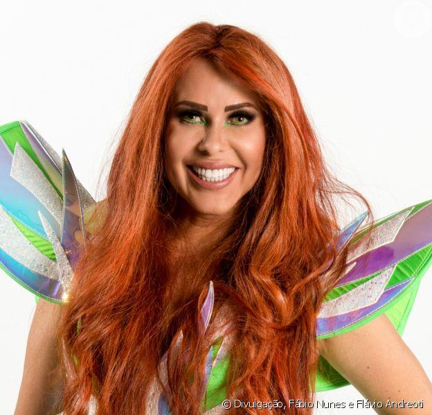 Joelma muda cabelo para novo clipe e cogita aderir ao ruivo após elogio de Marina Ruy Barbosa
