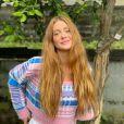 Marina Ruy Barbosa brincou com cabelo ruivo de Joelma: 'Acabou meu reinado'